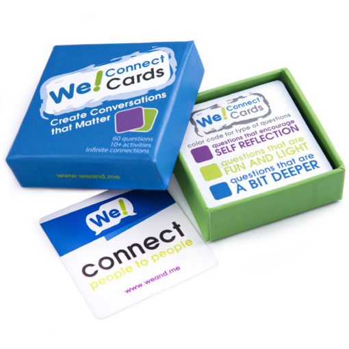 We! Connect Cards Icebreaker Game
