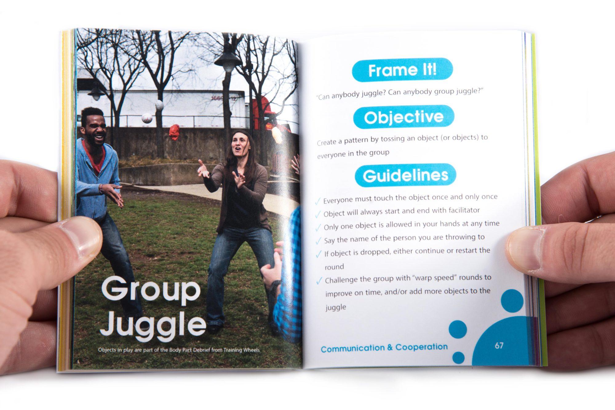 Pocket Guide to Facilitating Human Connection Group Juggle Activity