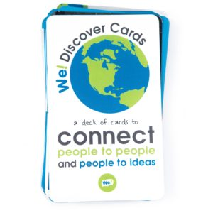 We! Discover Cards