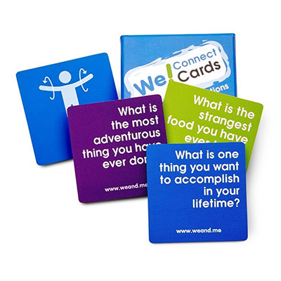 We! Connect Cards from We and Me, Inc.